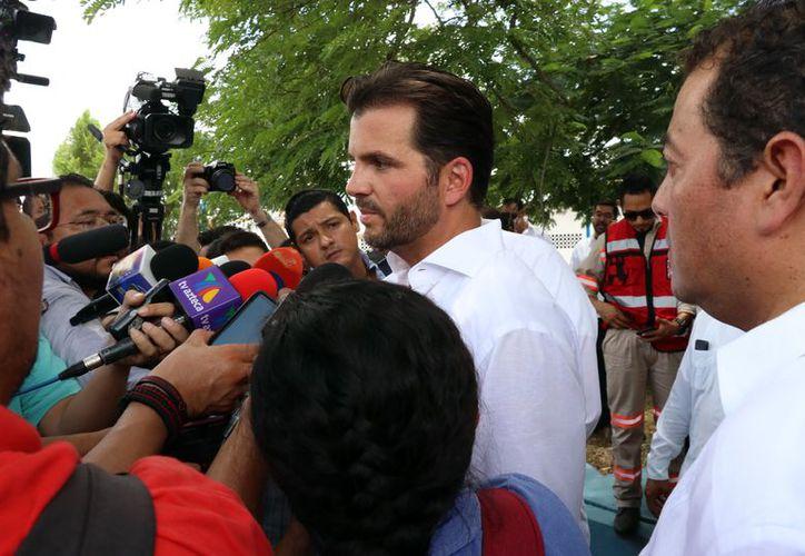Rafael Pacchiano Alamán, titular de la Semarnat. (Foto: Milenio Novedades)