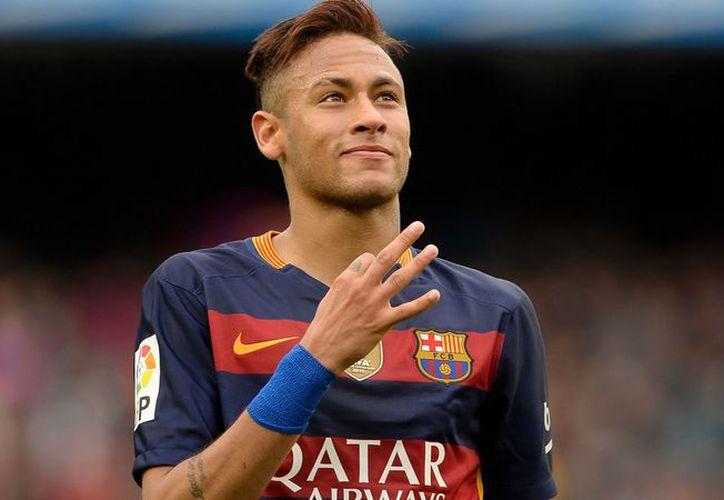 Neymar podría perderse el juego del  próximo 23 de abril. (Captura Youtube).
