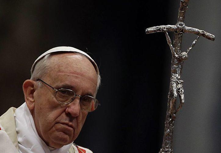 El Papa pidió a las autoridades venezolanas rechazar cualquier tipo de violencia. (Agencias)