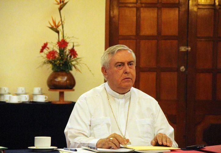 La Reunión Provincial de obispos que tuvo lugar en Mérida estuvo presidida por el arzobispo del estado Emilio Carlos Berlie Belaunzarán. (Milenio Novedades)