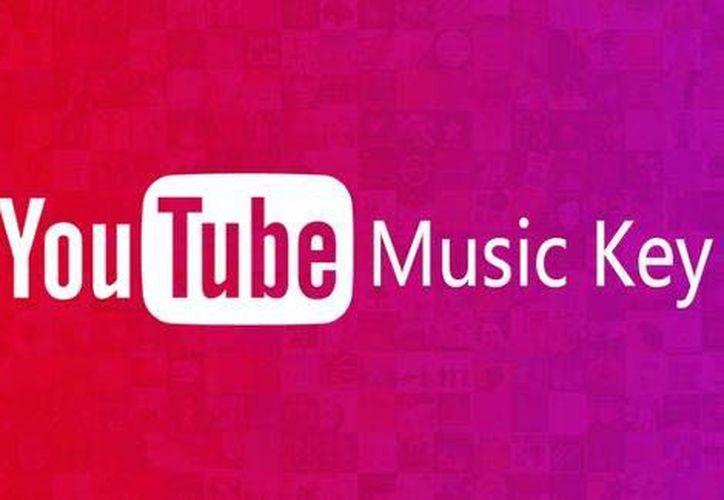 Youtube presenta la fase beta de Music Key, servicio por suscripción de videos sin publicidad en internet.