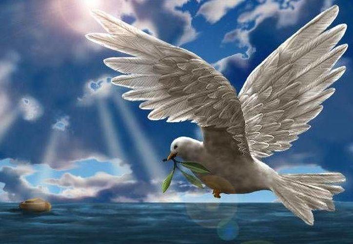 El Espíritu Santo viene revelado en dos momentos, uno de los cuales es cuando baja del cielo y de su permanencia en Jesús. (mensajesdelcielo.net)