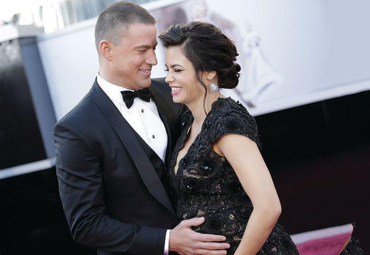 Tatum y Dewan fueron de las parejas más estables del medio. (Internet)