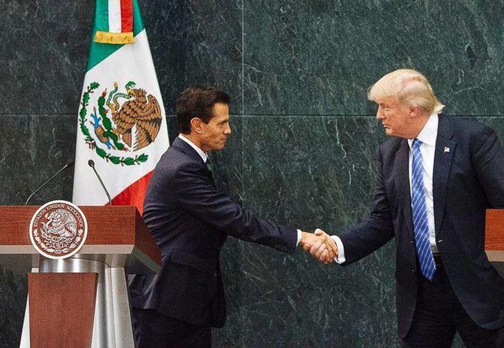 Peña expresó la voluntad de México de trabajar en una agenda en la que se beneficien ambos países. (Archivo/Agencias)