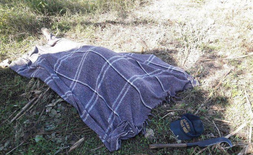 El cuerpo de don Celedonio fue encontrado en su terreno en la calle 39 del fraccionamiento Jardines de Tahdzibichén. (SIPSE)