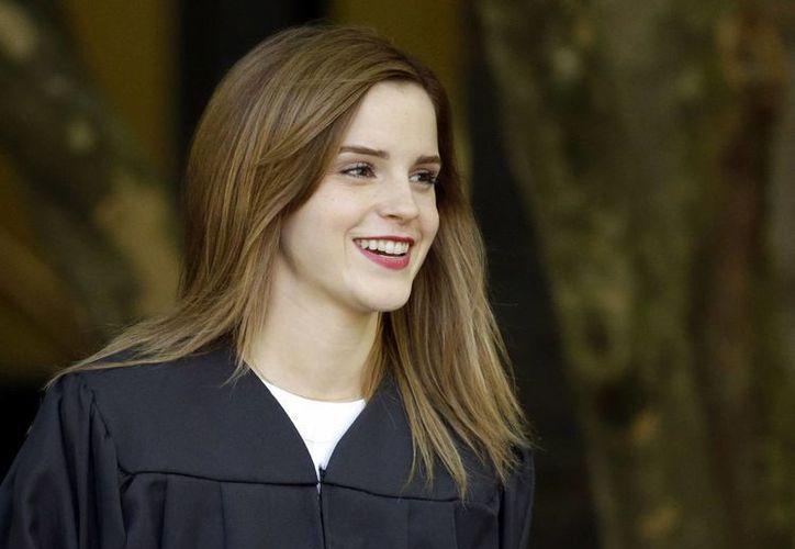 Una publicación anónima, originada desde 4chan, amenazó a Emma Watson de divulgar fotografías íntimas suyas. (Archivo/AP)