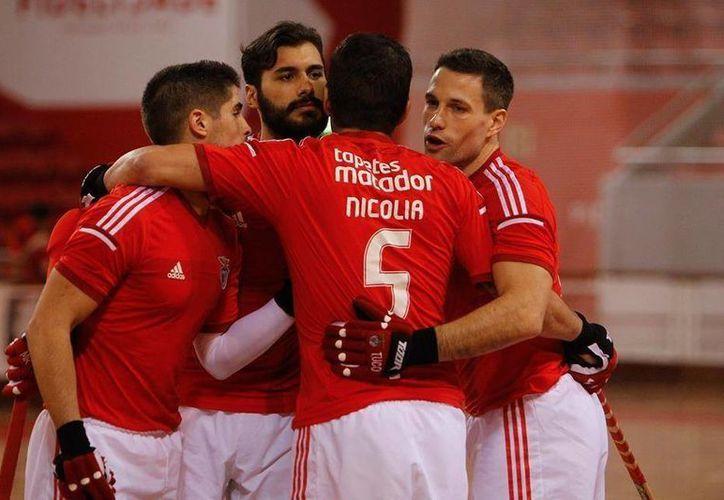 Benfica consiguió este domingo su 34ta corona en la liga de Portugal. (multidesportos.com)