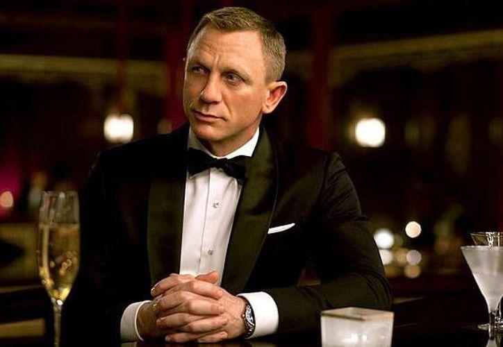 Daniel Craig es el James Bond que más ha bebido en las películas de entre todos los actores que lo han interpretado. (telegraph.co.uk)