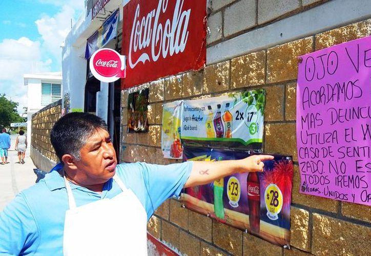 Los asaltos se realizan en las calles aprovechando cuando va oscureciendo. (Daniel Pacheco/ SIPSE)