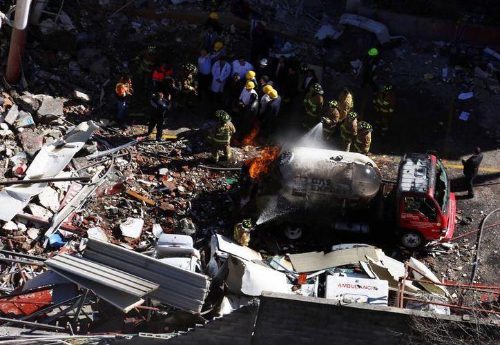 La explosión en el Hospital Materno Infantil de Cuajimalpa se registró el 29 de enero. (Archivo/Notimex)