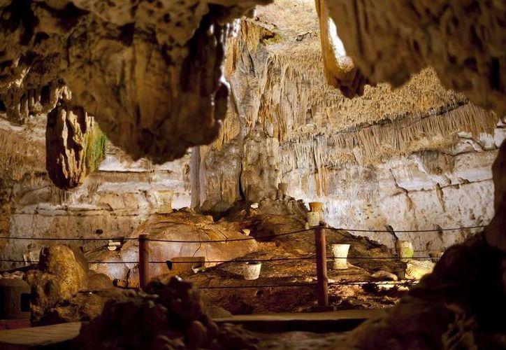 Las grutas se encuentran a una hora con 40 minutos de Mérida. (Milenio Novedades)