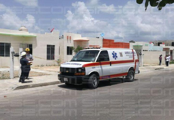 Dos mujeres fueron asesinadas presuntamente por un hombre, quien luego se suicidó, en el fraccionamiento Las Américas Tres, de Chetumal. (Jorge Uk/SIPSE)