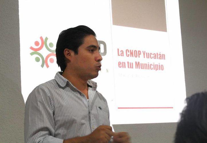Manuel Medina Enríquez, líder de la CNOP en Yucatán. (Milenio Novedades)