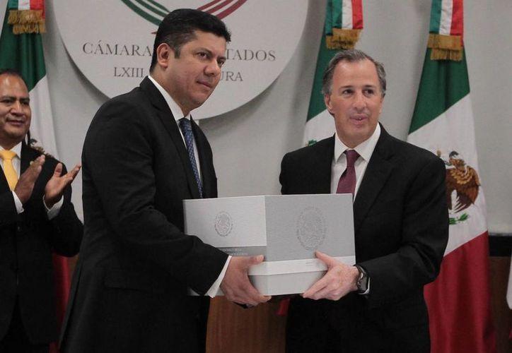 El secretario de Hacienda, José Antonio Meade, aseguró que el presupuesto 2017 tendrá sensibilidad social. (Notimex)