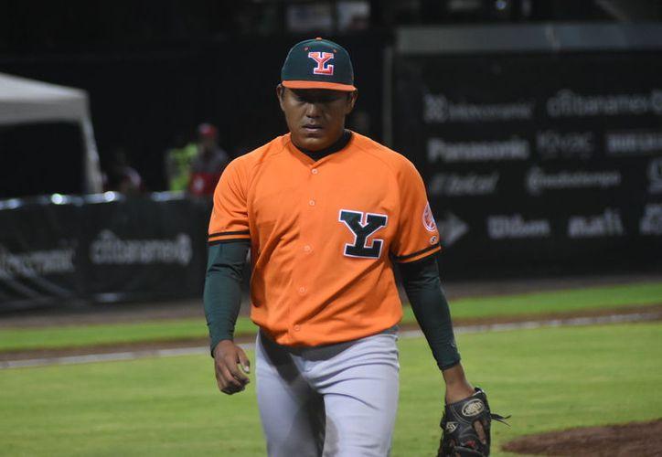 El yucateco Carlos Pech apenas vio acción en una entrada, en el estadio Fray Nano. (Cortesía)