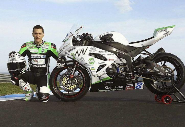 Antonelli perdió el control de su moto al iniciar la carrera. (EFE)
