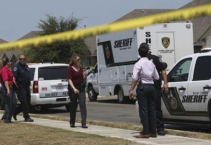 La identidad del cadáver no ha sido determinada todavía. (San Antonio Police Dept.)