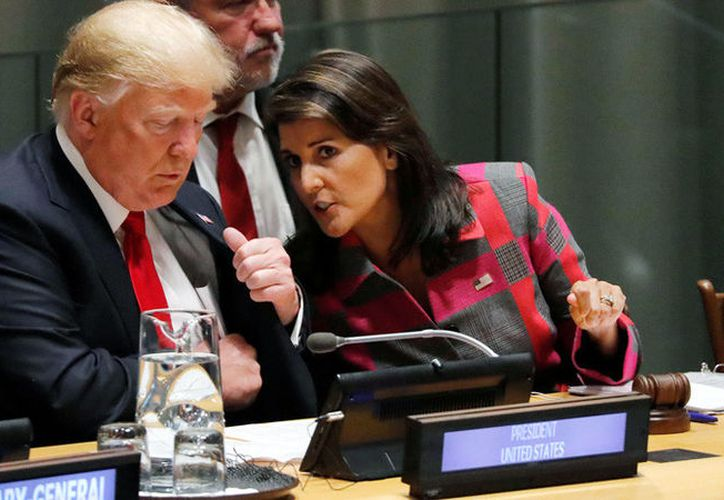 Haley ha ocupado el cargo de representante de EE.UU. ante la ONU desde la llegada de Trump al poder en enero de 2017. (RT)