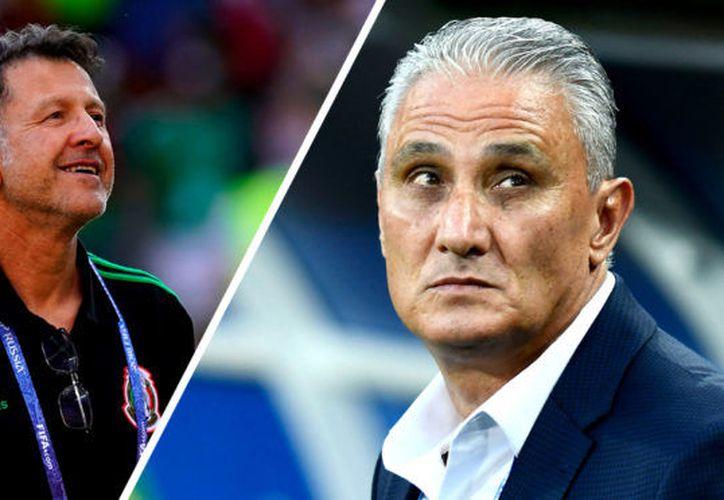Esta  será la segunda vez que se enfrenten Juan Carlos Osorio y Tite. La primera fue un partido d Liga en Brasil que terminó 1-1 (Foto: imago)