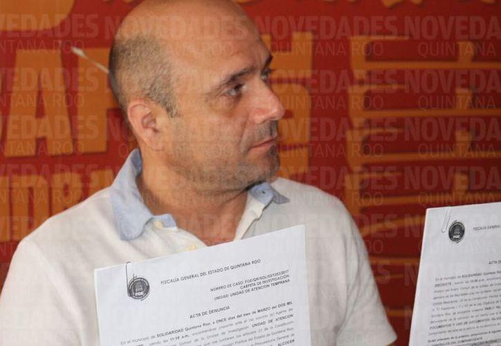 La falsificación de documentos trató de simular una sesión del consejo directivo de la Canaco. (Adrián Barreto/SIPSE).