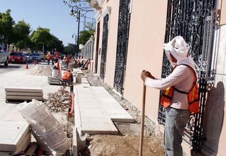 Las obras tienen buen avance. (Juan Carlos Albornoz/SIPSE)