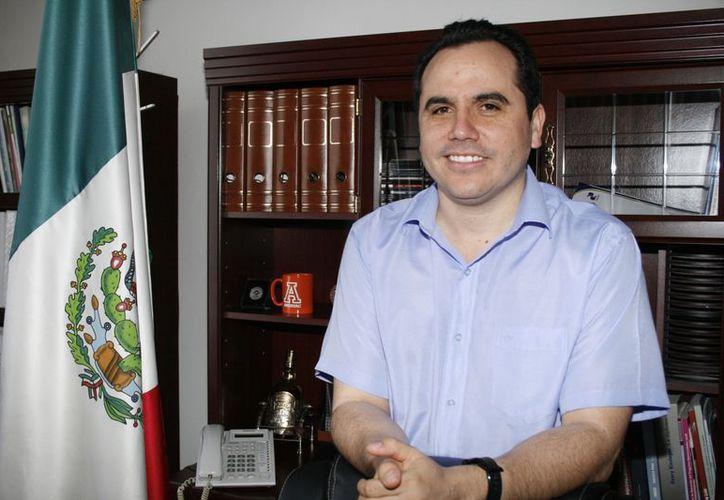 Manuel Carrillo Esquivel, director general del Colegio Nacional de Educación Profesional Técnica. (Antonio Sánchez/SIPSE)