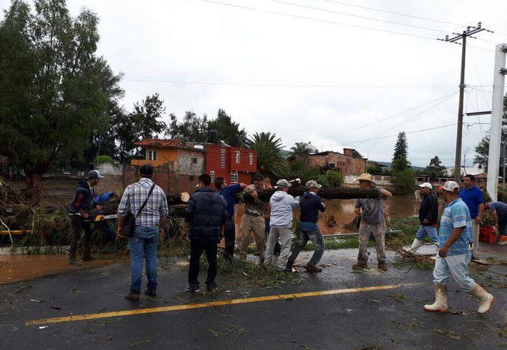 Las autoridades indicaron que en la madrugada de este domingo fue habilitado un albergue municipal. (López Doriga)