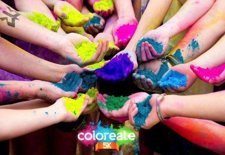 Al final de la carrera se realizará una nube de color con todos los participantes. (Ángel Mazariego/SIPSE)
