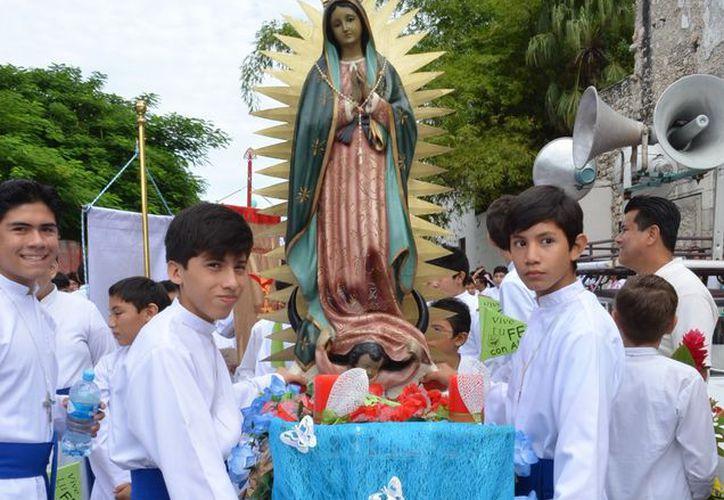 Los visitantes de esta Iglesia son antorchitas del interior del Estado, así como diversas partes del país, como Campeche, Quintana Roo y Tabasco. (Archivo/SIPSE)