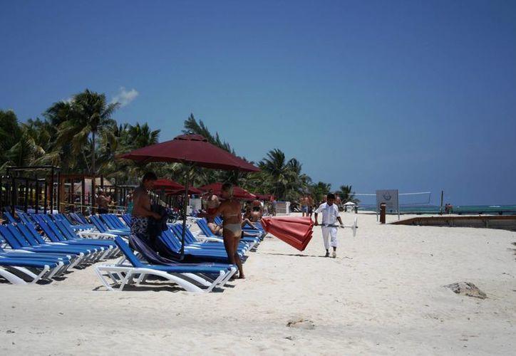 Los hoteleros de la Rivieria Maya esperan tener una temporada baja con el 70% de ocupación. (Octavio Martínez/SIPSE)