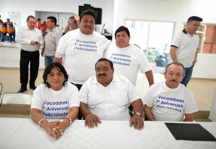 Comité del Sindicato de Voceadores y Expendedores. (Luis Pérez/SIPSE)