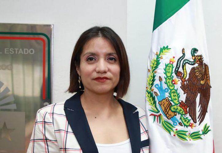 Mónica de los Ángeles Valencia Díaz, fue electa como magistrada presidenta del Tribunal de Justicia Administrativa. (Redacción/SIPSE)