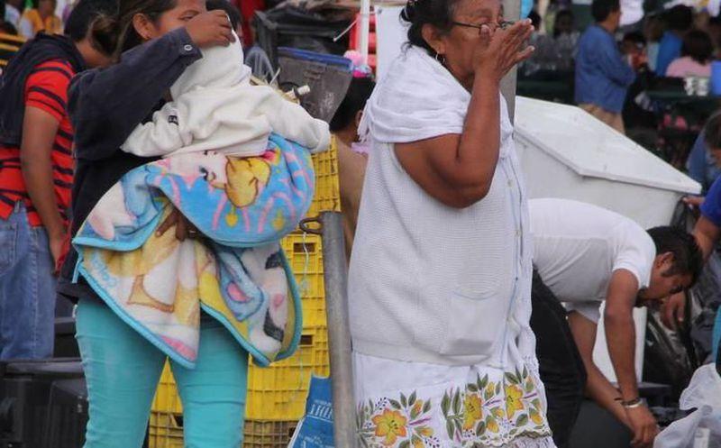 Continuaran bajas temperaturas en el Estado por Frente Frío Número 14