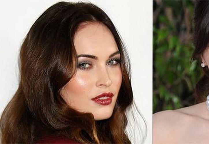 Debido a su embarazo Zoeey Deschanel (d) dejará temporalmente la serie 'New girl', por lo que entrará en su lugar Megan Fox, según informó el portal de E! Entertainment. (AP)