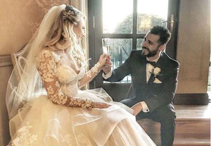 El integrante de la banda se casó este fin de semana en Nueva York. (Instagram)