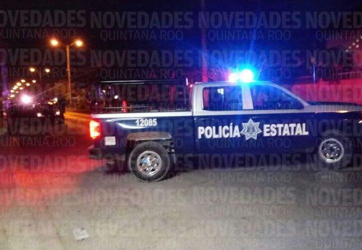 El vehículo fue detenido a 50 metros de la avenida 20 de Noviembre, en Benito Juárez. (SIPSE)