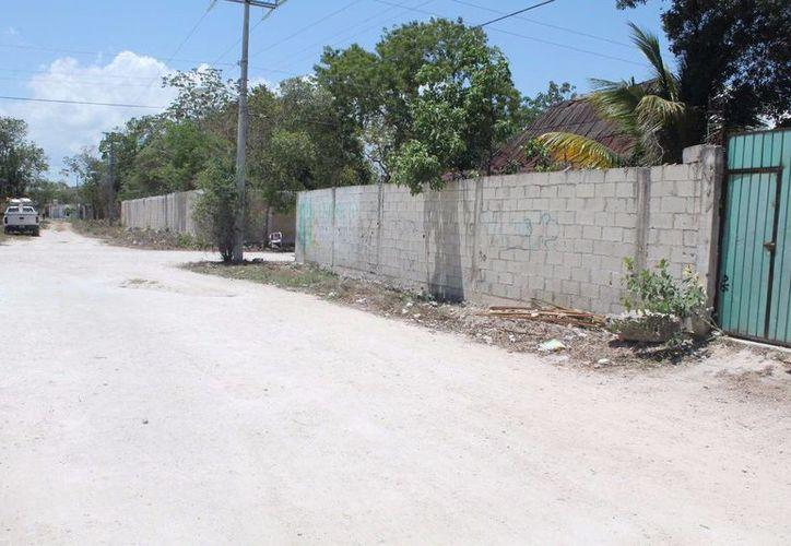 El mortal incidente ocurrió en la calle Chunyaxché con Tejón. (Rossy López/SIPSE)