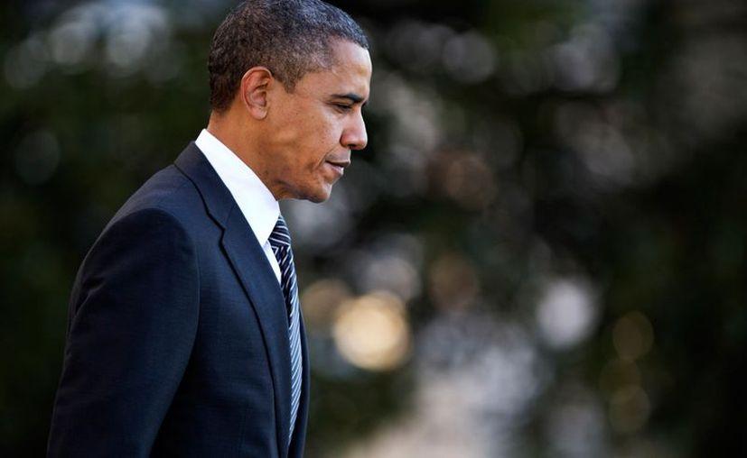 """""""Empecemos nuestro trabajo haciendo las cosas sobre las que estamos de acuerdo"""", dijo Obama en su mensaje de este sábado. (Agencias)"""