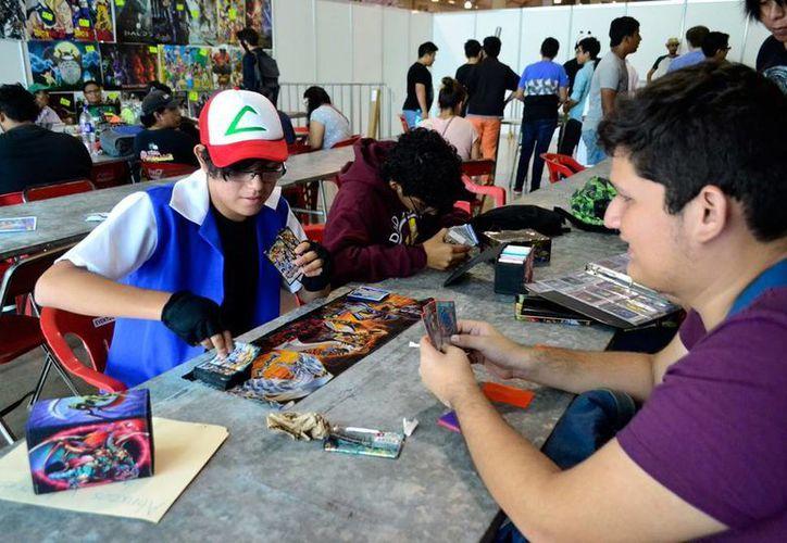 Actividades lúdicas y cosplay destacaron en la Convención Tsunami Mérida SP, de comics, anime y manga. (Daniel Sandoval/SIPSE)