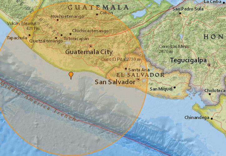 Por el momento no se han registrado víctimas ni daños materiales tras el terremoto. (RT)