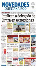Implican a delegado de Sintra en extorsiones