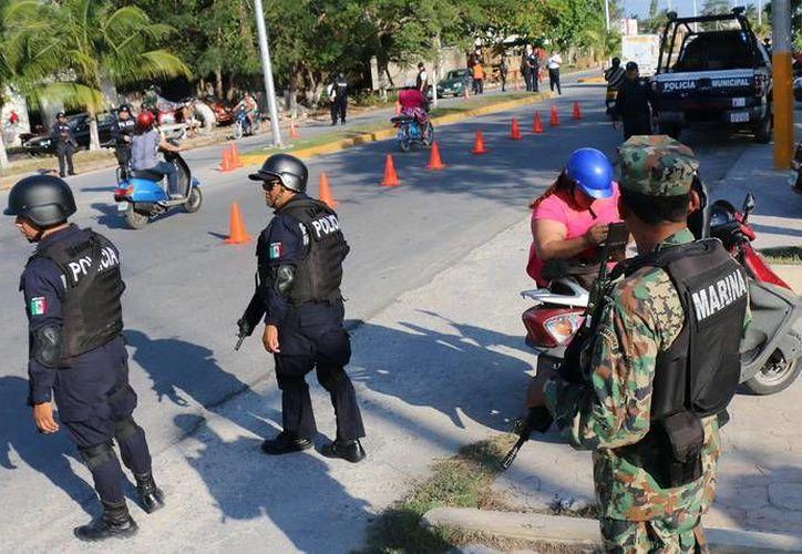 Durante los días festivos se reforzará la vigilancia vial en Cozumel. (Redacción/SIPSE)