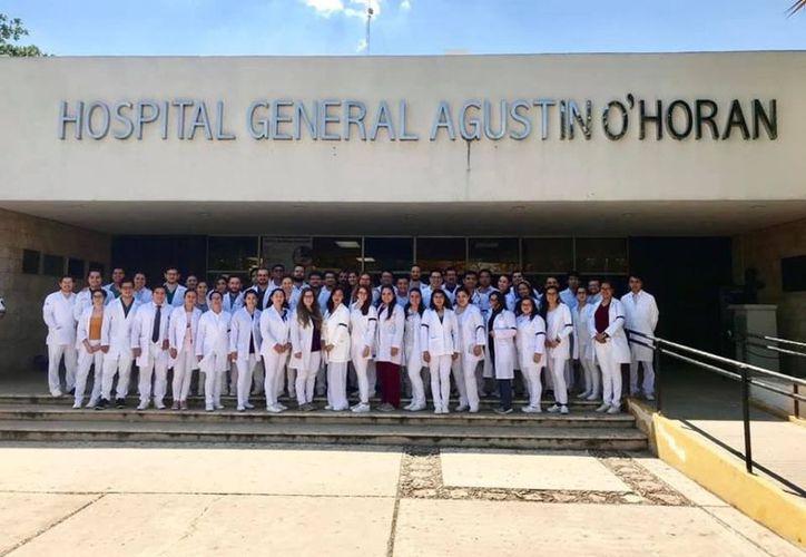 Los médicos residentes del O'Horán ya recibieron sus pagos. (Novedades Yucatán)