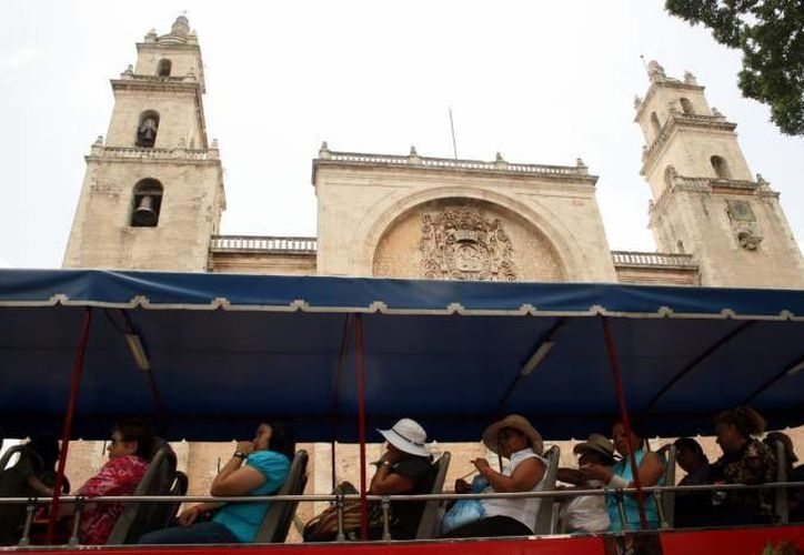 De 2014 a 2015 hubo un aumento en el número de visitantes extranjeros a Yucatán, de acuerdo a Sefotur. (Milenio Novedades)