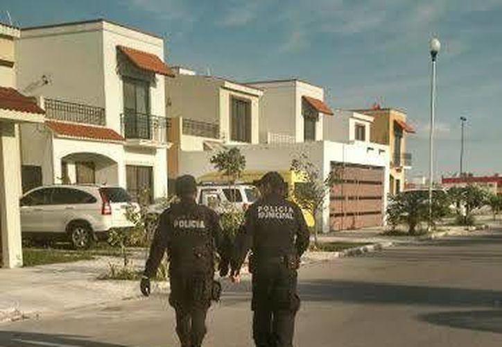 Elementos de la Secretaría Municipal de Seguridad Pública y Tránsito recorrieron diversos puntos de la ciudad. (Cortesía)