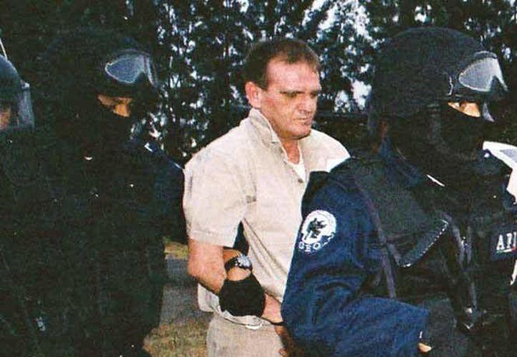 Héctor <i>El Güero Palma</i> fue enviado a Estados Unidos el 9 de abril de 2007. El capo aparece en esta imagen fechada en Almoloya de Juárez el 19 de enero de 2007. (Cuartoscuro/Archivo)