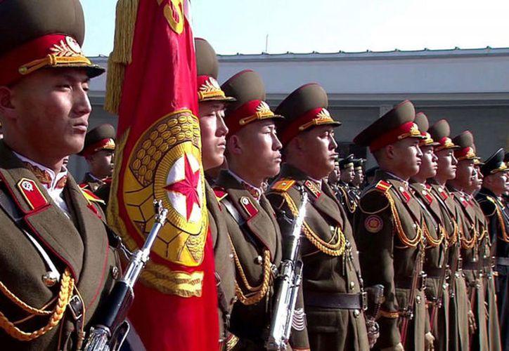 Corea del Norte anunció el mes pasado que este año iba a celebrar el 70º aniversario de su ejército. (Infobae)