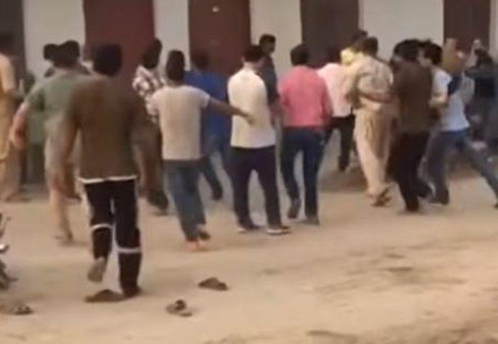 No es la primera vez que se enfrentan los trabajadores chinos y la Policía en Pakistán. (RT)