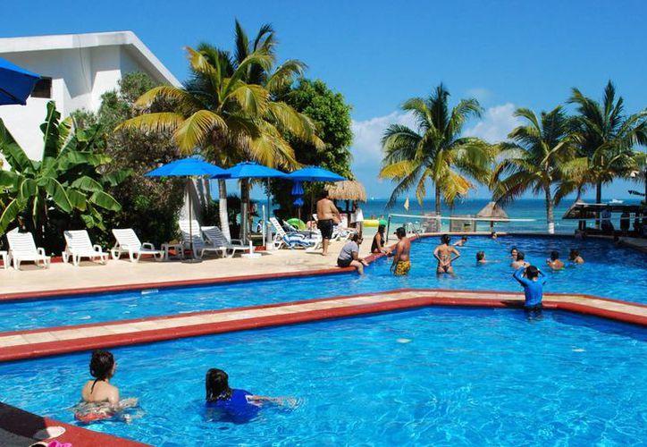 Reportan una ocupación hotelera de 87% en este destino turístico. (Israel Leal/SIPSE)