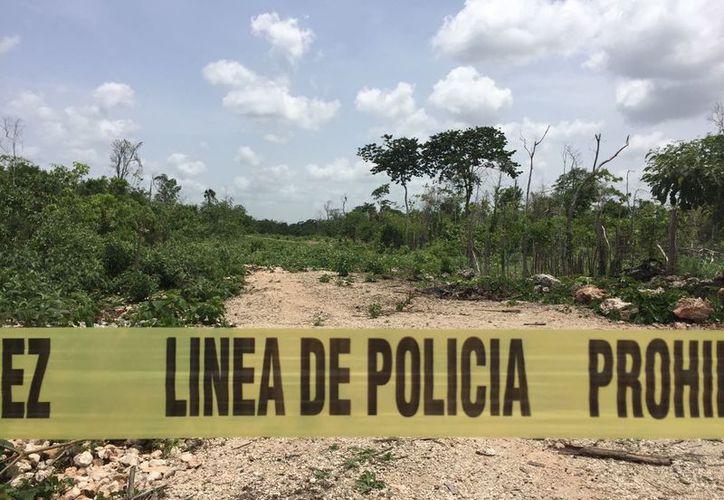 Al lugar llegaron elementos de la Policía Municipal, Policía Federal y la Cruz Roja pero los paramédicos se retiraron tras verificar que el hombre ya no tenía signos vitales. (Foto: Redacción/SIPSE)